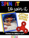 Letter Naming Fluency Spin It to Win It