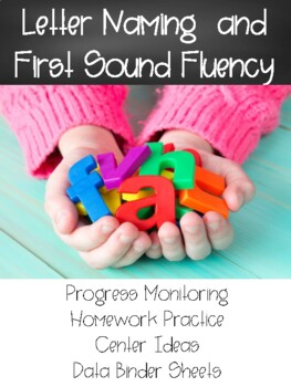 Letter Naming Fluency and First Sound Fluency Homework