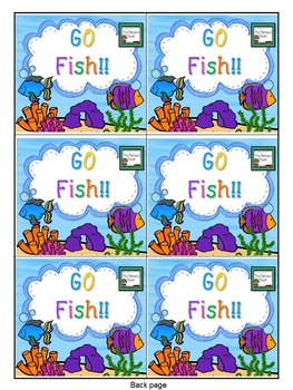 Letter Naming Games- Go Fish!