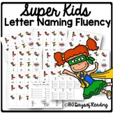 Letter Naming Fluency Practice for Capital and Lowercase Letters