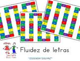 Letter Naming fluency in Spanish - Fluidez de letras