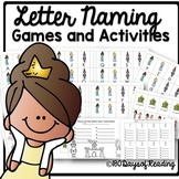 Letter Naming or Letter Sound Fluency Games for Centers or Small Groups