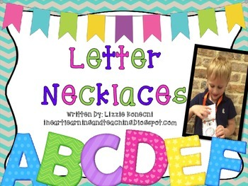 Letter Necklaces- A to Z
