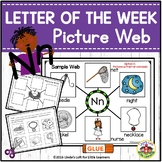 Letter Nn Letter of the Week Picture Web Activity