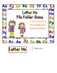 Letter Nn File Folder Game