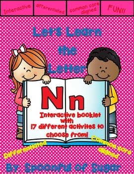 Letter Nn- Interactve Activities Booklet