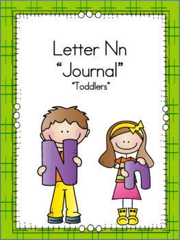 Letter Nn Journal for Toddlers