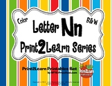 Letter Nn Language & Literacy Activity Center {PRINT2LEARN}