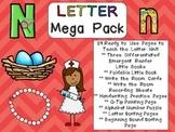 Letter Nn Mega Pack- Kindergarten Alphabet- Handwriting, Little Books, and MORE!