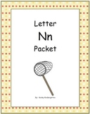 Letter Nn Phonics and Writing Pack