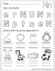 Letter Nn Practice (RTI)