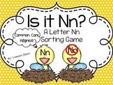 Letter Nn Sorting Game