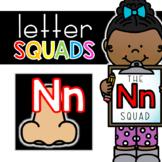 Letter Nn Squad: DAILY Letter of the Week Digital Alphabet