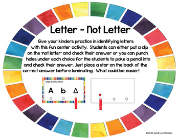 Letter - Not a Letter