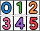 Letter, Number, Color, Shape Pocket Chart Sort