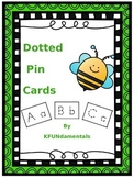 Letter & Number Formation Dotted Push-Pin Cards - Great fo