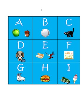 Letter & Number Picture Cards