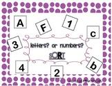 Letter Number Sort