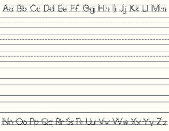 Letter & Number Writing Practice
