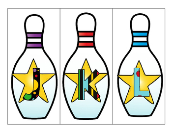 Letter, Number and Shape Bowling