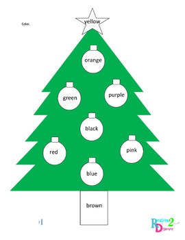 Letter, Numbers, Shapes and Colors - Holiday Learning