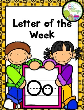 """Letter of the Week (Letter """"O"""")"""