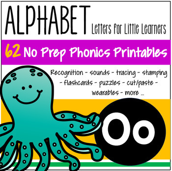 Alphabet O Letter of the Week Phonics Recognition, Sound, Tracing & Craftivities