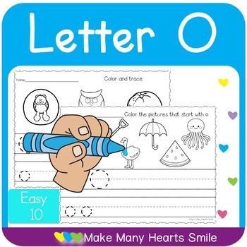 Easy 10: Letter O