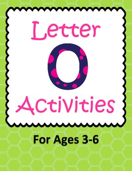 Letter O Activities- 46 Pages! {Common Core}