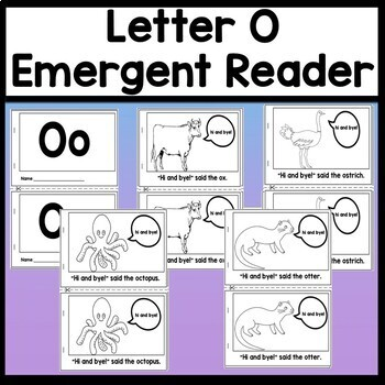 Letter O Activities {Letter O Book and 5 Letter O Worksheets!}