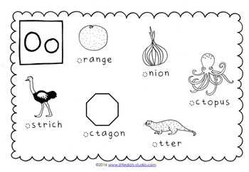 Letter O Activities and Worksheets