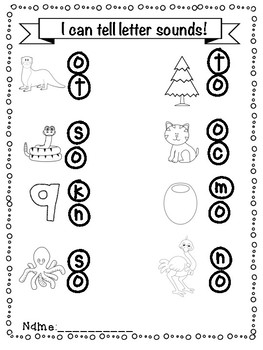 Letter O Activity Pack!