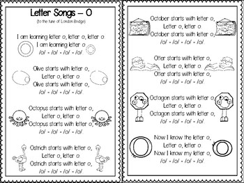 Letter Oo Activity Pack (CCSS)