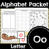 Letter O Activity and Center Packet