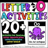 Letter O Alphabet Activities   Recognition, Formation, and Sounds