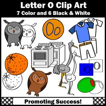 Letter O Clipart, Alphabet Clip Art, Letter Sounds SPS