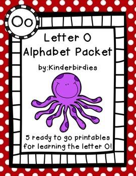 Letter O Alphabet Packet