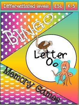 Letter O Bingo