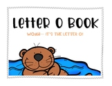 Letter O Book: Handwriting Practice