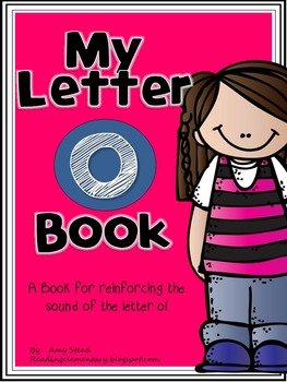Letter O Book of Beginning Sounds-Emergent Reader w/Running Record-CCSS Aligned