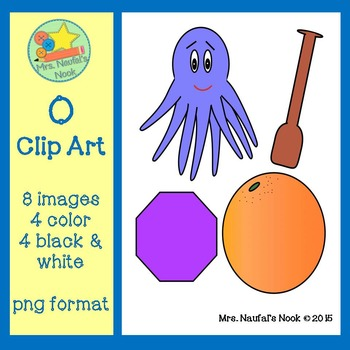 Letter O Alphabet Clip Art