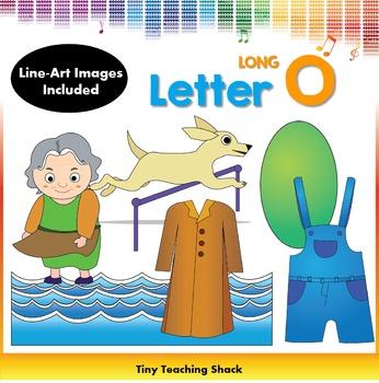 Letter O Clip Art (Long O)