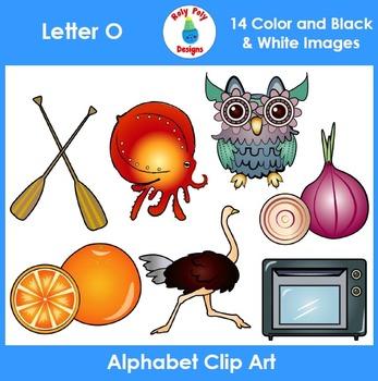 Letter O Clip Art Set