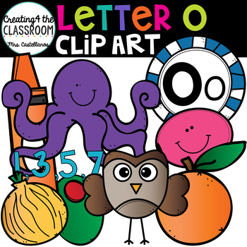 Letter O Clipart {Alphabet Clip art}