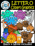 Letter O- Clipart Graphics- Commercial & Personal Use