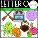 Letter O Clipart Pack