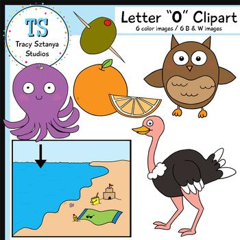 "Letter ""O"" Clipart Set {Tracy Sztanya Studios}"
