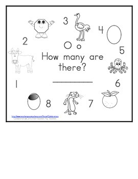 Letter O Counting Books