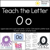 Letter O Craft and Writing Practice