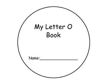 Letter O Interactive Reader